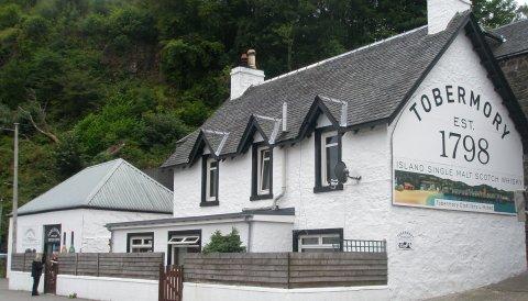 Whisky reis Schotland - whisky distilleerderij Tobermory